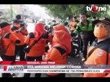 Cegah Corona, 750 Ojol Disemprot Disinfektan