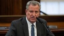 New York mayor blames Trump for medical shortages