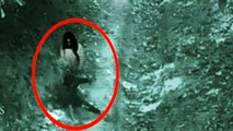 Real Ghost Attack Caught on CCTV In Forest - Scary Videos - Rear Ghost Caught On Camera