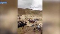 مصرع وإصابة 16 شخصا في سيول ضربت سبع محافظات إيرانية