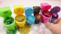 Kids Love Water Balloons Glue Learn Colors Glitter Slime Surprise Eggs Toys For Kids