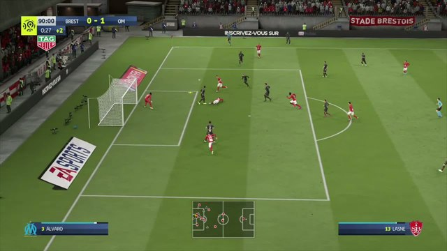 Stade Brestois - OM : notre simulation FIFA 20 (L1 - 31e journée)