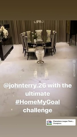 Le Home My Goal Challenge incroyable de John Terry