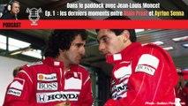 Podcast : Jean-Louis Moncet raconte les derniers moments entre Prost et Senna