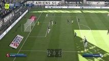 Amiens SC - Stade Rennais sur FIFA 20 : résumé et buts (L1 - 31e journée)