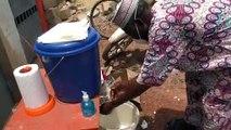 Coronavirus : La Force 2015 sensibilise contre la pandémie à N'Douci.