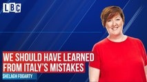 Shelagh asks where UK went wrong in preparation