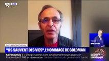 """""""Ils sauvent des vies"""": l'hommage de Goldman aux soignants"""