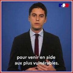 JeVeuxAider.gouv.fr Présentation Gabriel Attal