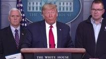 """트럼프 """"북한과 이란 코로나19 도움 필요하면 도울 것"""" / YTN"""