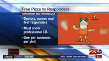 Little Caesars free pizza
