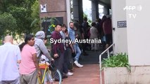 Echoes of Great Depression as jobless Australians queue for help