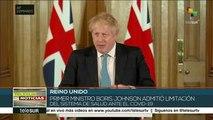 Admite Boris Johnson limitación del sistema de salud ante Covid-19