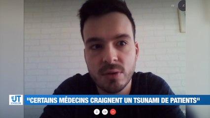 """""""Je me dis que j'ai une responsabilité"""", écoutez le témoignage de Tom, infirmier à Saint-Etienne"""