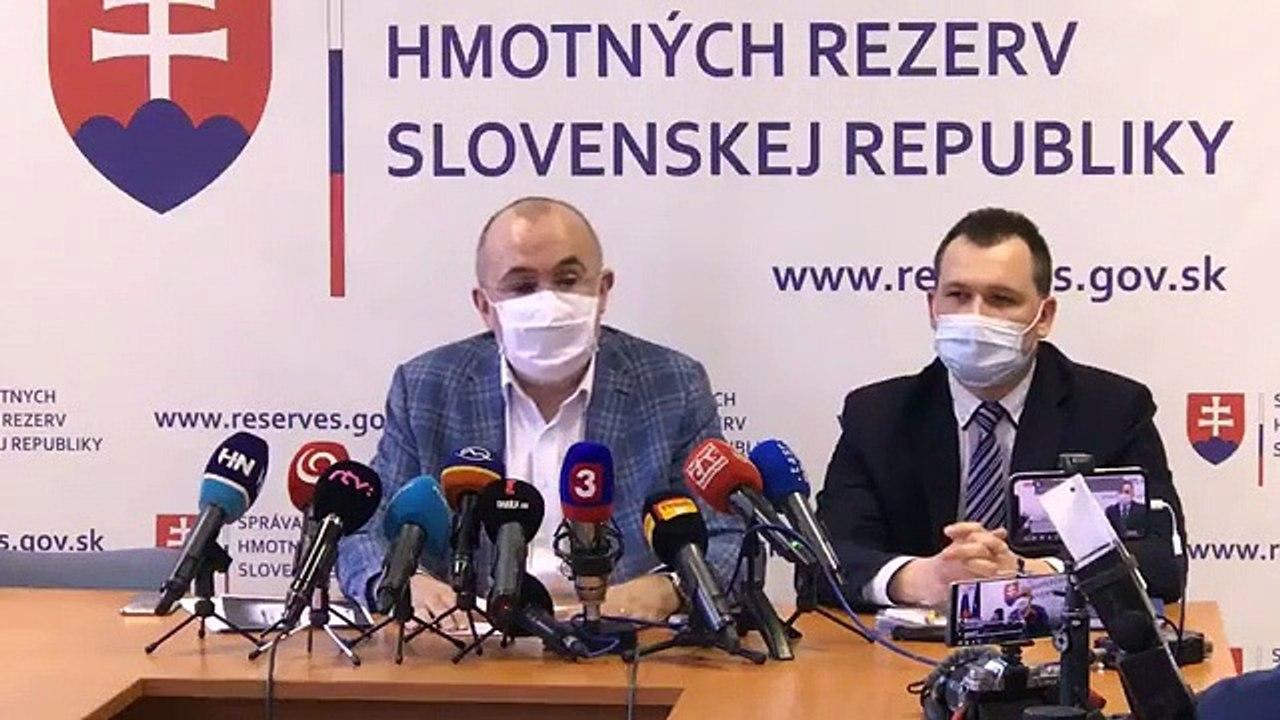 ZÁZNAM: TK predsedu Štátnych hmotných rezerv Kajetána Kičuru