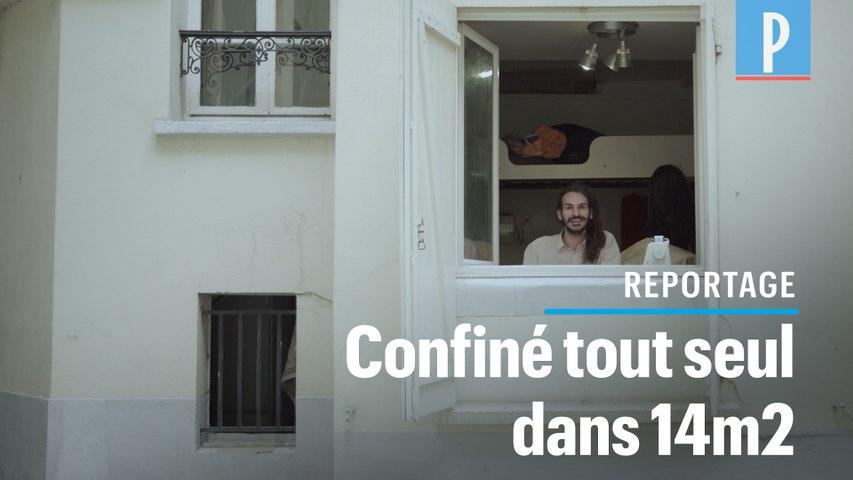 Romain, étudiant confiné dans un studio sombre et humide de 14 m2 à Paris