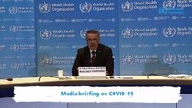 WHO: Coronavirus Pandemic Is 'Accelerating'