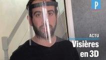 Il fabrique des visières de protection pour les soignants avec une imprimante 3D