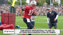 Tom Brady Plans To Attend Buccaneers OTAs