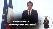 Olivier Véran annonce l'encadrement de l'usage de la chloroquine