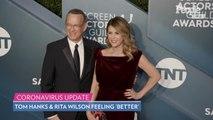 Tom Hanks Gives Update 2 Weeks After First Coronavirus Symptoms: 'We Feel Better'