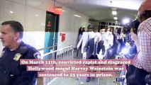 Convicted rapist Harvey Weinstein has tested positive for coronavirus
