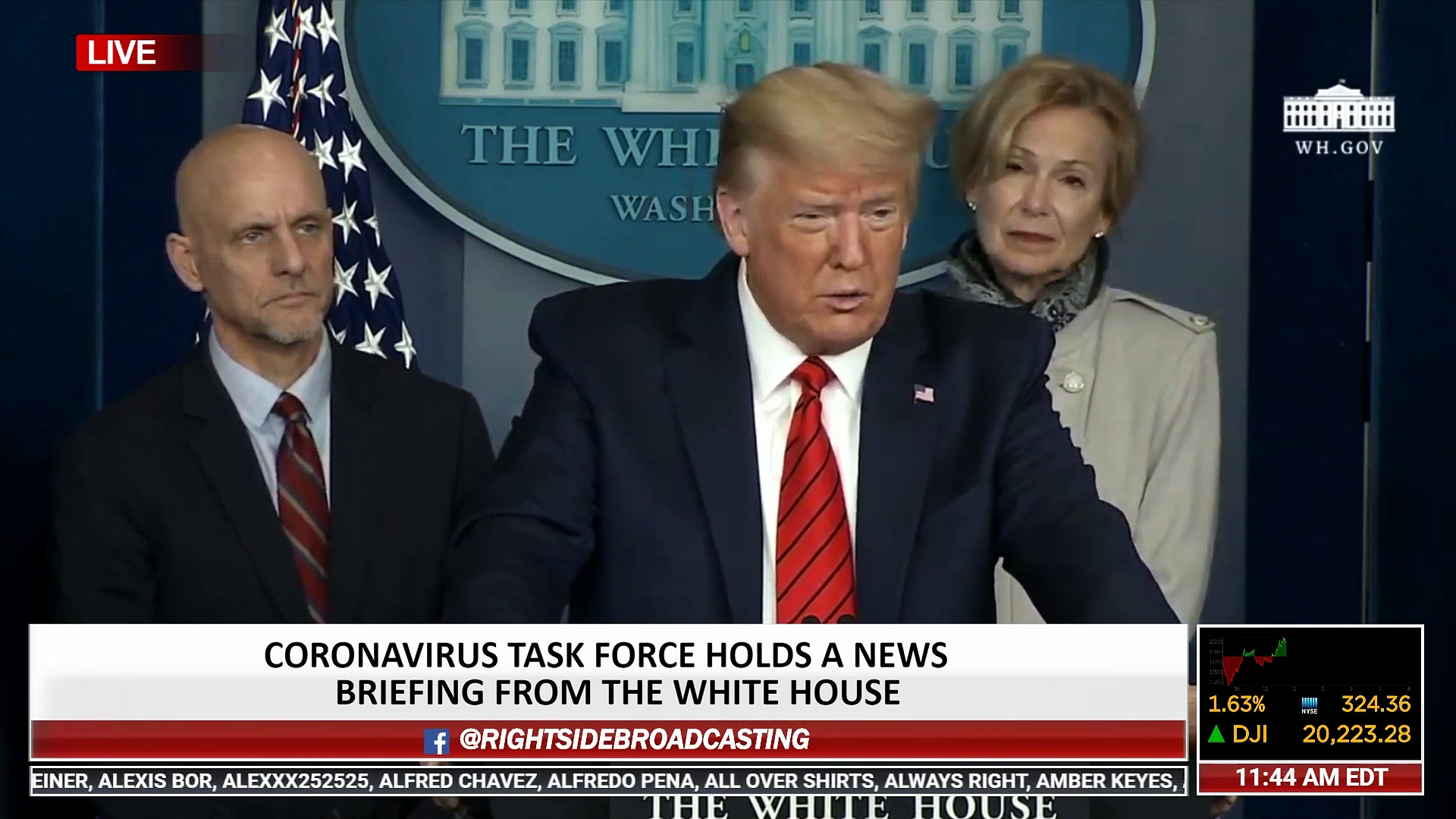 President Trump Announces FDA Approval of Hydroxychloroquine for Treatment of Coronavirus