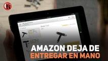 Amazon deja de entregar en mano