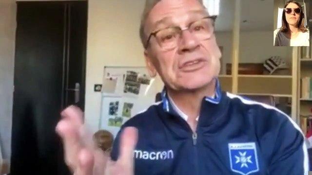 """Auxerre / Jean-Marc Furlan : """"Il faut finir ce championnat"""""""