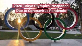 The 2020 Tokyo Olympics Are On Hold