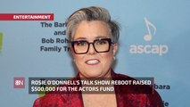 Rosie O'Donnell Helps Actors During Coronavirus