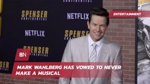 Mark Wahlberg Keeps Away From Musicals