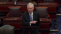 Tempers flare as $2 trillion aid package stalls in Senate