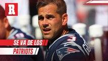 New England Patriots cortó de sus filas al pateador Stephen Gostkowski