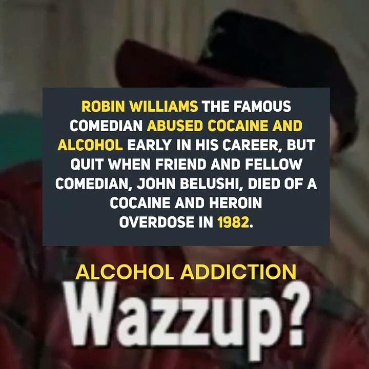 Robin Williams Alcohol Addiction