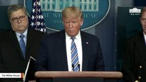 Trump At Coronavirus Briefing: 'We Have Learned About The Hands'