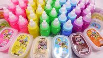 Kids Love To Play Soft Jelly Pudding Gummy DIY Learn Colors Slime Mix Surprise Eggs Toys For Kids