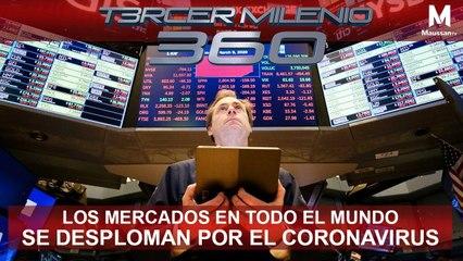 Tercer Milenio 360 l Los mercados en todo el mundo se desploman por el Coronavirus l 9 de Marzo