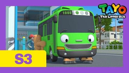 Ep. 3  Rogi the Sweeper l Tayo the Little Bus Season 3
