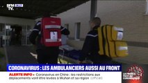 Coronavirus: les ambulanciers sont eux aussi en première ligne