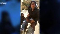 وفاة طفل عمره ثلاثة أيام بين أحضان والدته بعد طردها من مشفى جرمانا