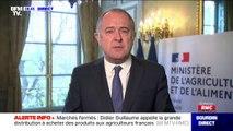"""Didier Guillaume appelle à """"rejoindre la grande armée de l'agriculture française"""""""