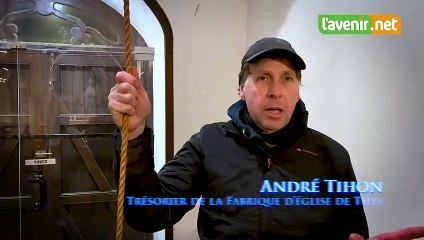 André Tihon, cloches de l'église de Thys, Crisnée