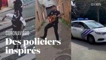 Le confinement se durcit... mais ces policiers qui dansent le rendent plus agréable