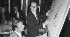Mort d'Albert Uderzo, le dessinateur d'Astérix et Obélix, à 92 ans