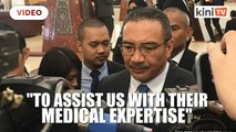 Hishammuddin: Malaysia seeking help from Chinese medical experts on Covid 19