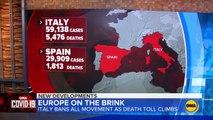 Coronavirus deaths in Italy skyrocket as crisis grows in Spain