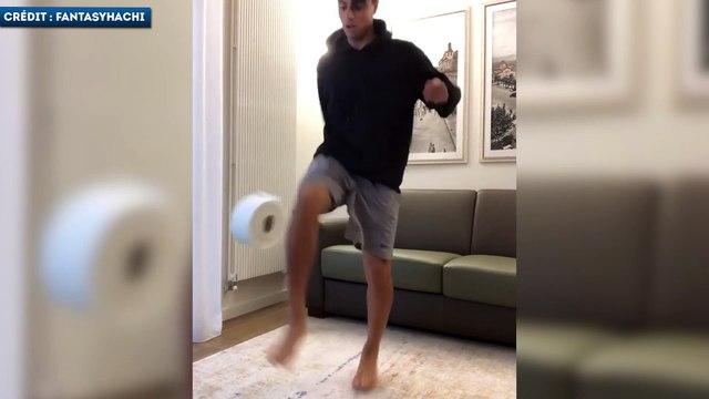 Le Stay At Home Challenge tout en technique de Hachim Mastour