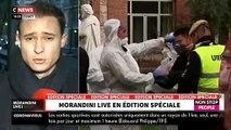 """VIRUS - Les larmes aux yeux, le communiquant Damien Albessard craque dans """"Morandini Live"""" devant les dizaines de morts parmi les personnes âgées - VIDEO"""