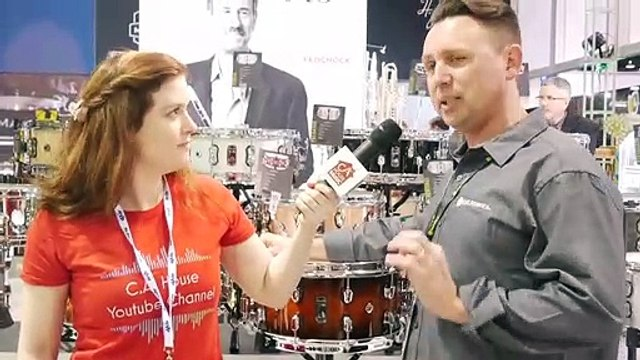 New Mapex Black Panther Wood and Metal Snare Drums - Winter NAMM 2020